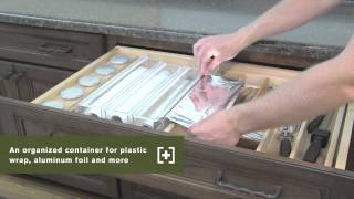Schuler Cabinetry: Wrap Organizers, Kitchen Storage Part 25