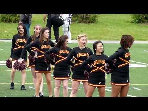 College Cheerleaders,Concordia Stingers,Panasonic FZ100,Montreal,25 September 2010