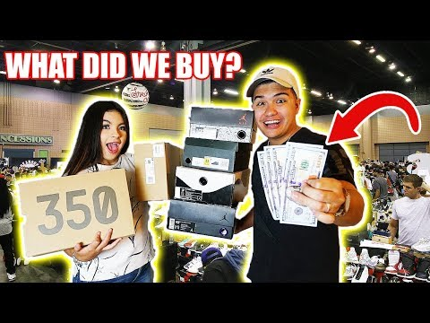 THE $500 SNEAKERCON CHALLENGE!! **RAREST SNEAKERS IN COLLECTION**