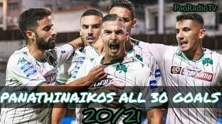 Panathinaikos all 30 goals Season 20/21