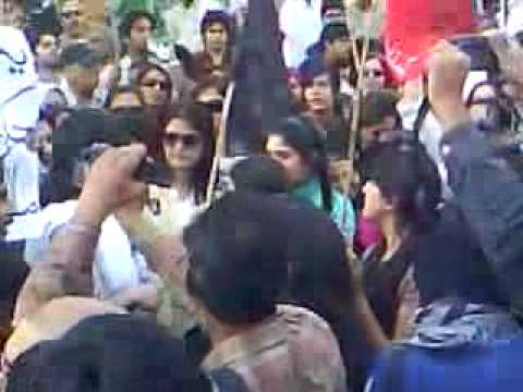 Aabpara Protest 15 March 2009