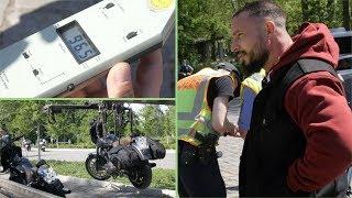 XXL-Polizei-Kontrolle zur Start der Motorradsaison in Berlin