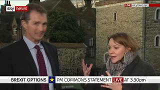 MP makes 'patronising' phone jibe during heated Brexit debate