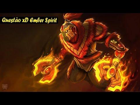 Dota 2 Ember Spirit Questao XD 3.7MMR Ranked