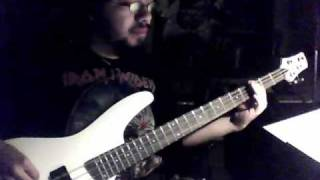 Iron Maiden - The Angel and the Gambler Bass Cover