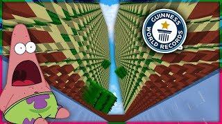WORLD RECORD CACTUS FARM BUILD! | Minecraft Skyblock