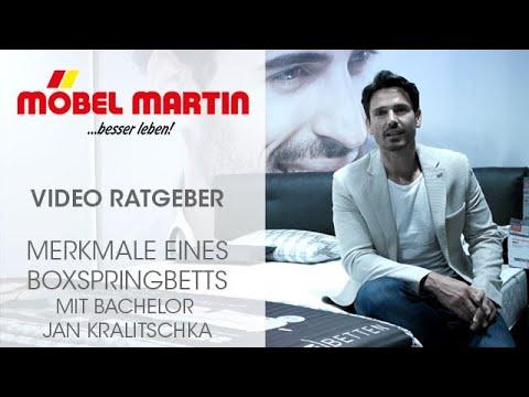 Möbel Martin Video Ratgeber Merkmale Eines Boxspringbett Mit