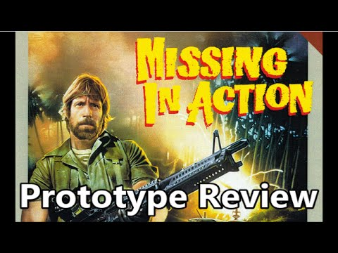 Missing in Action Atari 7800 Prototype Review - The No Swear Gamer