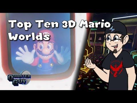 Top Ten 3D Mario Worlds - The Quarter Guy