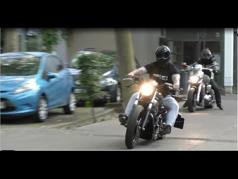 [HD] Harley Davidson Night Rod 1200 ccm und Suzuki Intruder 1800 ccm custom bike