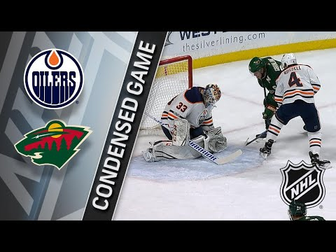 12/16/17 Condensed Game: Oilers @ Wild
