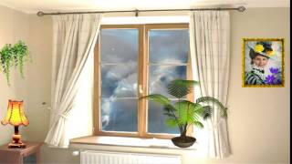 ФУТАЖ  Урок 37 Молния, гроза, Дождь