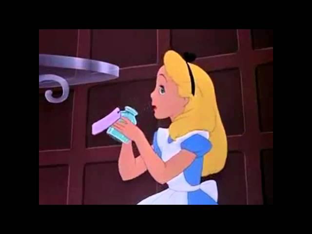 Alice in Wonderland (Short episode with a doorknob)
