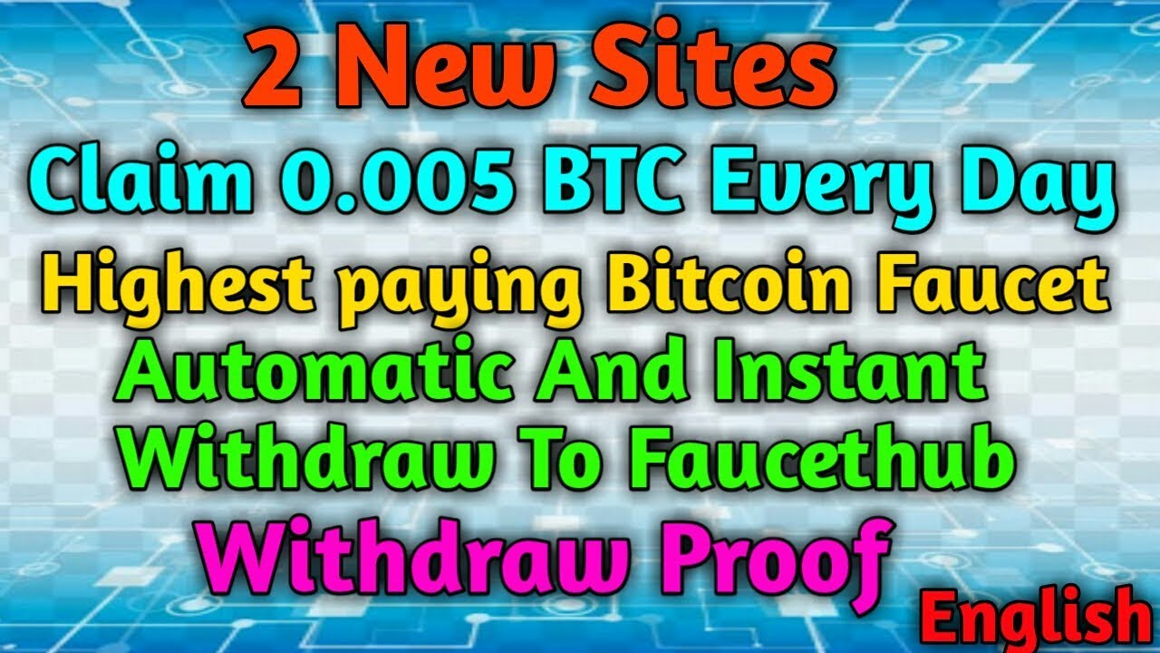 Claim 0.005 BTC Every Day Claim Every 6 Minutes With Instant ...