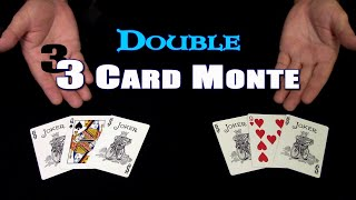 DOUBLE 3 Card Monte ~ An In Depth Tutorial