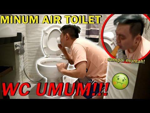 MINUM AIR DARI TOILET SAMPE MUNTAH! *Not Clickbait*