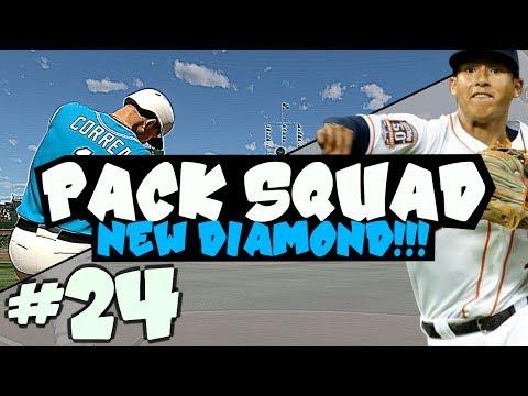 DIAMOND UPGRADE! PACK SQUAD #24 MLB 17 DIAMOND DYNASTY!