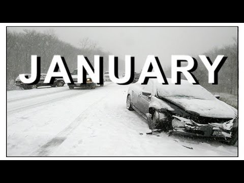 Winter Car Crash Compilation JANUARY Review - NEW by CCC :)