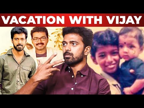 Vacation with Thalapathy Vijay and Childhood Memories Vikranth Opens Up!   Bakrid   WV 94