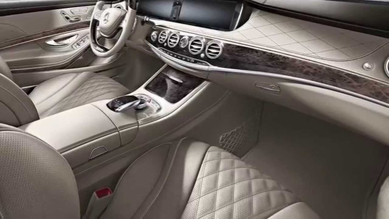 2015 mercedes benz s class sedan video walk around for Mercedes benz interieur