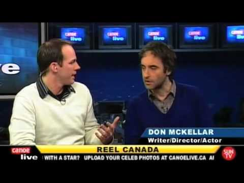 Canoe Live interviews Don McKellar about REEL CANADA