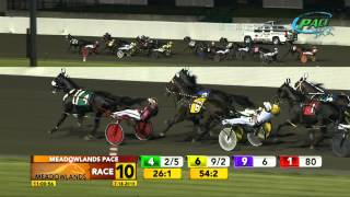 2015 Crawford Farms Meadowlands Pace Final - Wiggle It Jiggleit - July 18, 2015