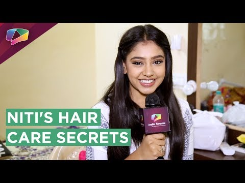 Niti Taylor Shares Her Hair Care Secrets With India Forums | Exclusive