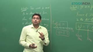 Work Power And Energy(WPE) By Aman Mathur (AM) Sir (ETOOSINDIA.COM)