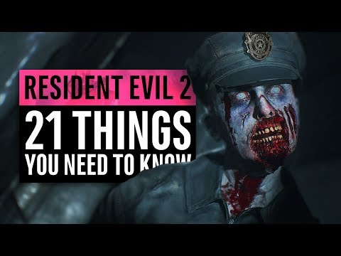 Resident Evil 2 Remake | 21 Things You Need To Know