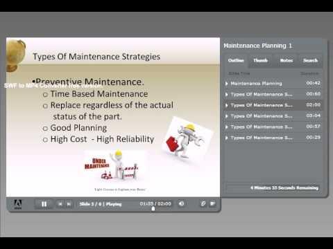 Maintenance Strategies   English