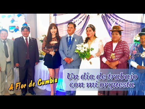 VIDEO: CONTRATO DE ORQUESTA A FLOR DE CUMBIA