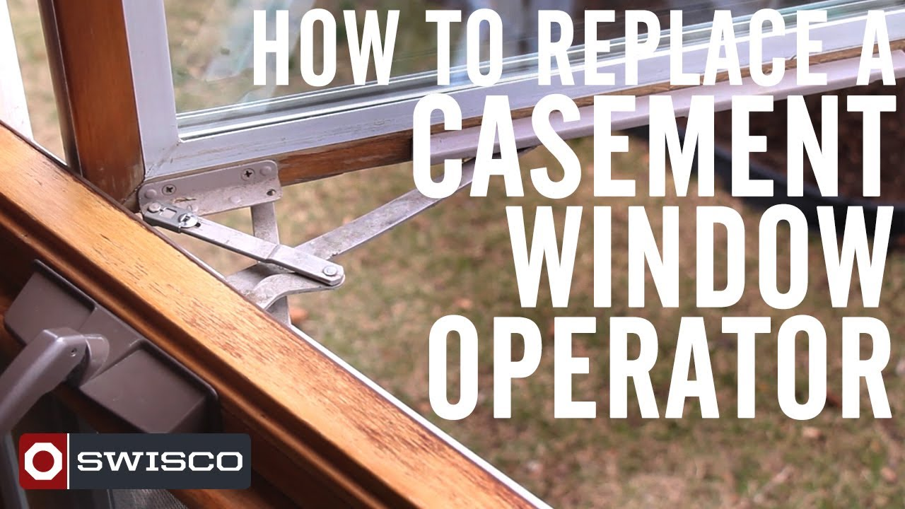 how to replace a casement window operator 1080p youtube