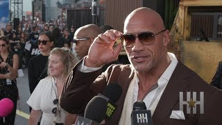 Jason Staham Calls The Rock 'Overrated' At 'Hobbs & Shaw' World Premiere