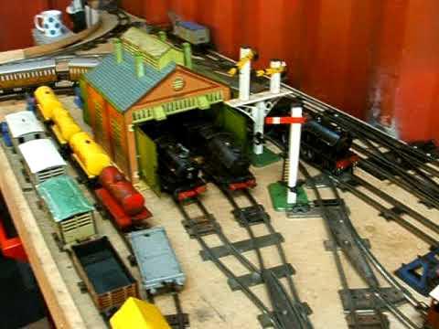 Hornby Clockwork O Gauge Train Dscf0261 Avi Youtube