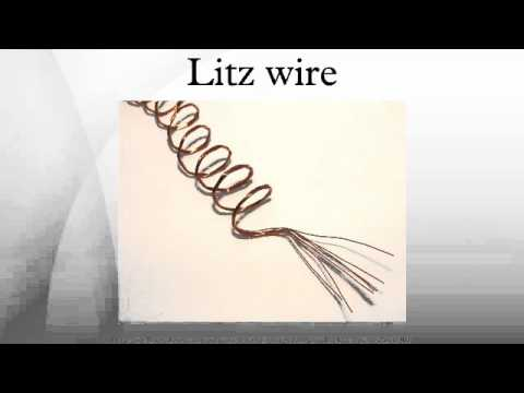 Litz wire - YouTube
