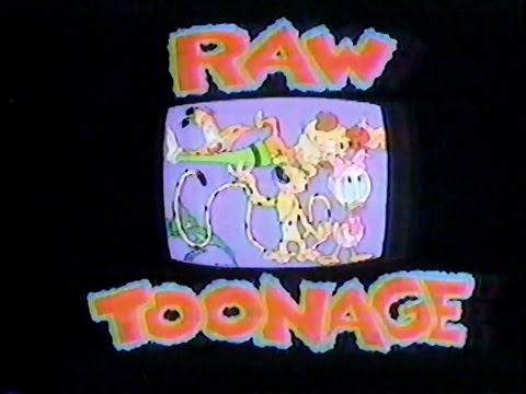 Disney's Raw Toonage (1992) - First 2 Episodes (see description for list)