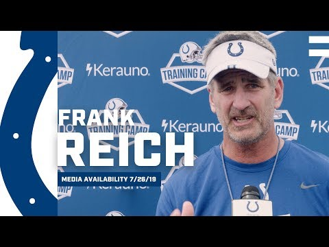 Frank Reich Excited About Colts Tempo Early In Training Camp