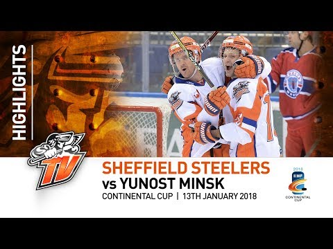 Sheffield Steelers v Yunost Minsk - Continental Cup - 13th January 2018