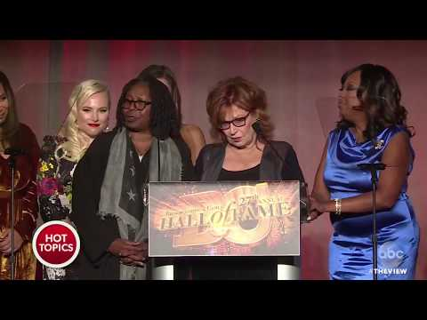 'The View' Inducted To Broadcasting & Cable Hall Of Fame | The View