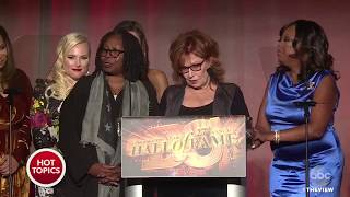 'The View' Inducted To Broadcasting & Cable Hall Of Fame | The View 2017 Video