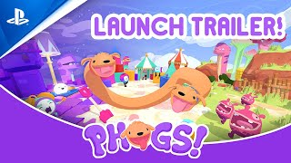 Phogs! - Launch Trailer | PS4
