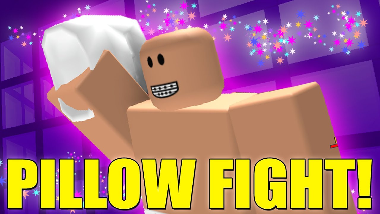 Roblox PILLOW FIGHT Game  YouTube