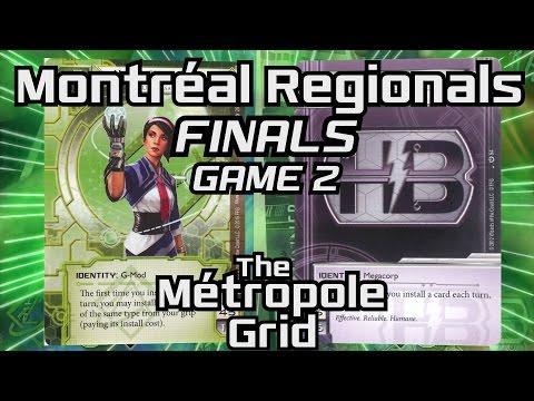 Montréal Netrunner Regionals 2015: Finals - Game 2