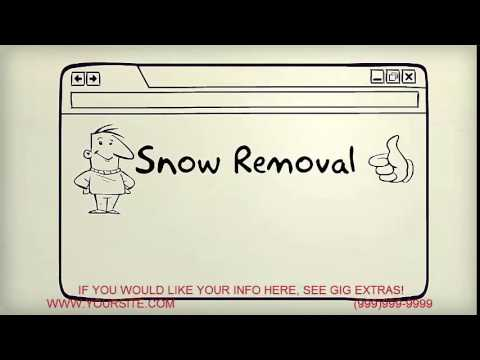 give you a SNOW REMOVAL whiteboard video