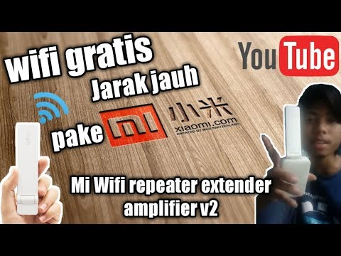 Cara Konek Wifi Gratis Jarak Jauh Pake Xiaomi Mi Wifi Repeater V2 Dijamin Ampuh 100% Gan :D