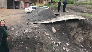 Оползни сель в Дагестане Чародинский район село Ириб 2018