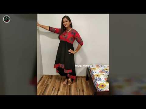 Nandhini Serial Actress Madhavi Unseen Real Life Pics