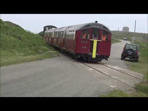 Alderney Railway Trackside 2016   Mannez Quarry to Braye Roa