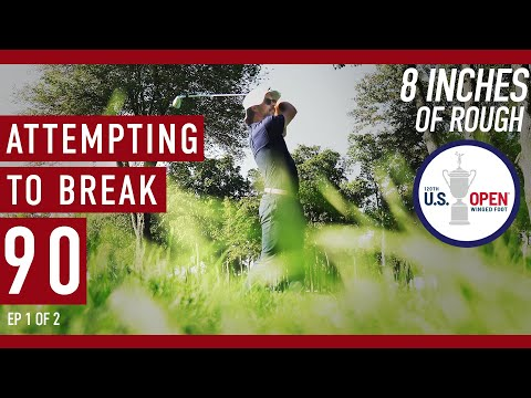 Can EAL Break 90 from the tips on Winged Foot's US Open Layout? - Front 9
