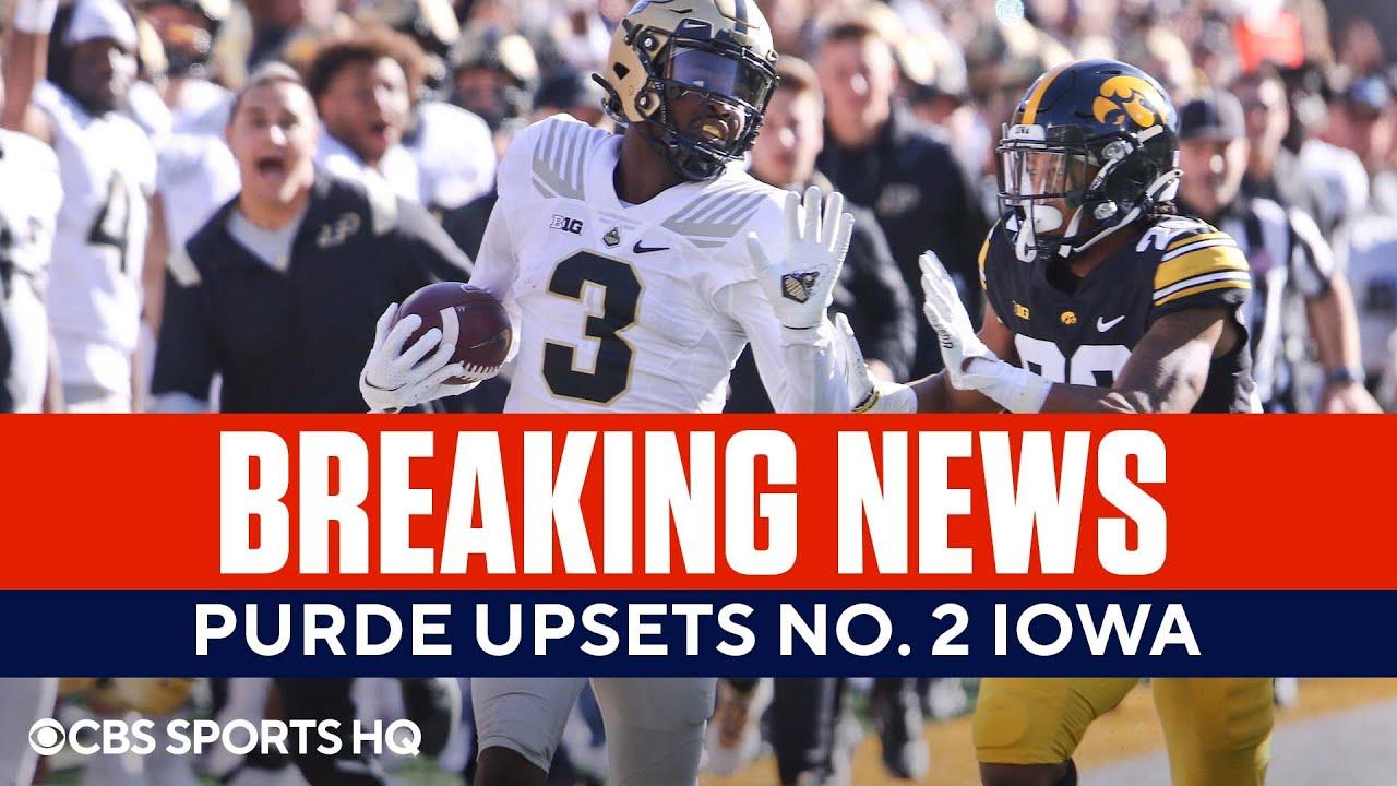 Download BREAKING: Purdue Upsets No. 2 Iowa   FULL Game Recap   CBS Sports HQ